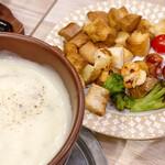 原価ビストロ チーズプラス - ブルーチーズフォンデュ