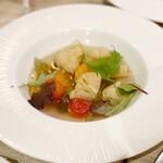 原価ビストロ チーズプラス - 野菜のピクルス