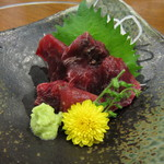 倭食処 かくれんぼ - 鮪・のどもと刺(997円)