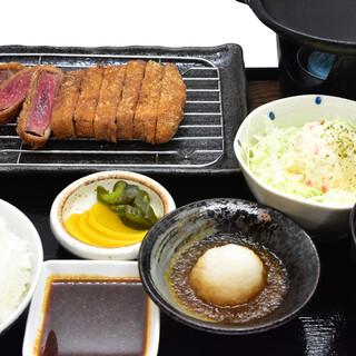 牛かつ御膳(並)1,400円(税込)