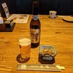 そば処 角弥 - ノンアルビール 400円