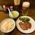 味太助 - 料理写真:味太助 本店@仙台 定食A・生ビール(2000円+600円)