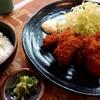 とんかつの船はし - 料理写真:カキフライ(900円税込)、ご飯の中サイズ(150円税込)