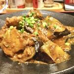 蔵元居酒屋 清龍 - 和風マーボーとでも言いましょうか。味噌味のマーボーです。