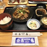 蔵元居酒屋 清龍 - マーボー茄子定食