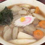 渋谷食堂 - けんちん蕎麦