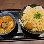 しゃがら - しゃがら@新潟駅店 つけ麺・大盛・味玉(780円+20円+50円)
