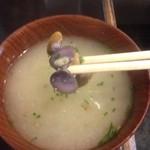 洋食屋かごしま - シジミ汁  100円