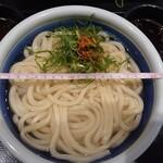 Marugameseimen - 釜揚げうどん特 250円(税込) 丼の直径22cm