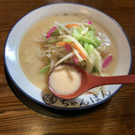 ちゃんぽん 一鶴 - 白濁したスープが旨いw