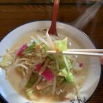 ちゃんぽん 一鶴 - 野菜がたっぷり