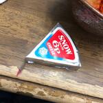焼き鳥野島 - チーズ(+キムチ)