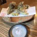 139689062 - 原木舞茸の天ぷら