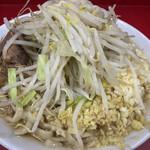 ラーメン二郎 - 料理写真:小(750円)、ニンニク・ショウガコール