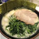 丸花 - 塩豚骨ラーメン