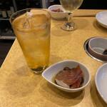 namihei - ジンシャーハイ+お通し
