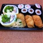 ちよだ鮨 - 料理写真:サラダ助六