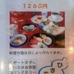 13970888 - メニュー(ひさご寿司弁当)