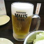 くし蔵 - 生ビール