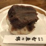 文珠荘 勘七茶屋 - 智恵の餅♪(こしあん)