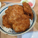 139708407 - 『二段もりヒレかつ丼』 1500円(税込)