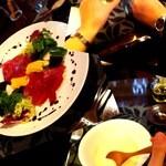 ワイン蔵で楽しむ美食 TERRA - センスの良い!彼女のブログ用写真、頂いたので、使っちゃいます~♡