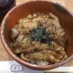 楽豚 - 炭焼き豚丼(並)
