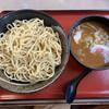 中華そば つけ麺 久兵衛 - 料理写真:濃厚つけ麺800円、大盛プラス150円とチャーシュートッピングプラス140円