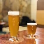 道後麦酒館 - 坊っちゃんビール グラス(600円)