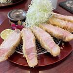 epais - ■信州タローポーク上ロースカツ定食¥2200