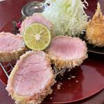 epais - ■本日の特選ヘレカツ・シャトーブリアン定食¥2178
