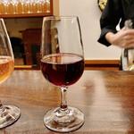 ワインバー 壱 - 飲み比べ 赤ワイン 都農ワイナリー・牧内エステート(宮崎)