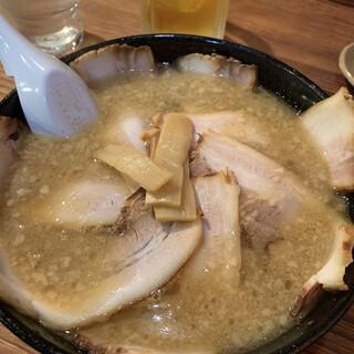 熱烈らぁめん - 料理写真:自家製ちゃぁしゅうめん   980円