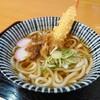 根尾川 谷汲温泉 - 料理写真:えび天うどん(600円)