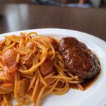 アズーロ - ハンバーグスパゲティ