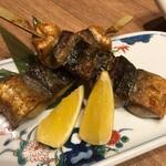 139730389 - 銀鯖の串焼き
