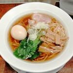 麺屋 空海 - 味玉中華そば 870円