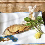 飄禄玉 - 鮎の塩焼き