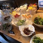 野菜がおいしいダイニング LONGING HOUSE - 野菜たち