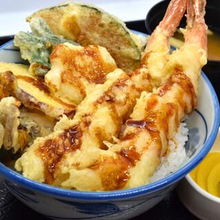 超お得ランチ天丼980円