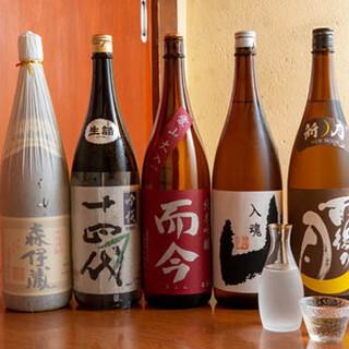 唎酒師の女将が厳選する日本酒をご堪能♪冬は「牡蠣酒」が◎