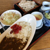 そば紋 - 料理写真:カレーライス定食 880円