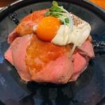 神田の肉バルRUMP CAP - ローストビーフ丼