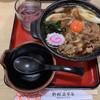 Nomurayahonten - 料理写真:牛すき焼き耳うどん(900円)
