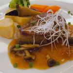 資生堂パーラー - ♦︎牛フィレ肉のステーキ 3,080円 (ライスおかわりサービス)