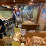 田中鶏卵 - 店舗内部の様子
