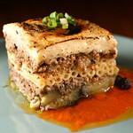 風の蔵 - 「パスティチオ」~ラム肉とナスとマカロニの重ね焼き
