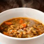 風の蔵 - レンズ豆のスープ「ファケス・スパ」