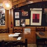 イタリアン ピザ レストラン トスカーナ - 内観