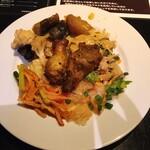 アジアンパーム - 1皿目の料理数々